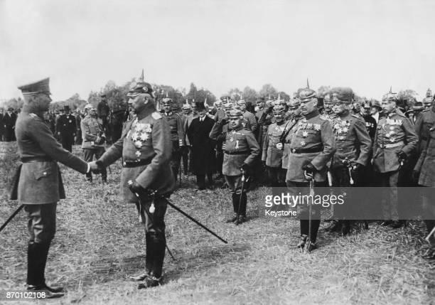 Paul von Hindenburg becomes President of the German Reich Germany 1925