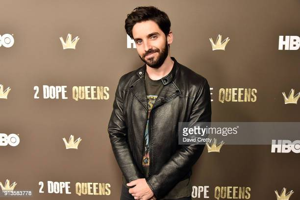 Paul W Downs attends HBO's '2 Dope Queens' Los Angeles Slumber Party Premiere at NeueHouse Hollywood on February 2 2018 in Los Angeles California