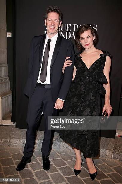 Paul W. S. Anderson and Milla Jovovich attend the Vogue Foundation Gala 2016 at Palais Galliera on July 5, 2016 in Paris, France.