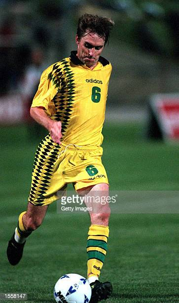 Paul Wade of Australia in action during a friendly match against China, played at the Bob Jane Stadium, Melbourne, Australia. Mandatory Credit:...