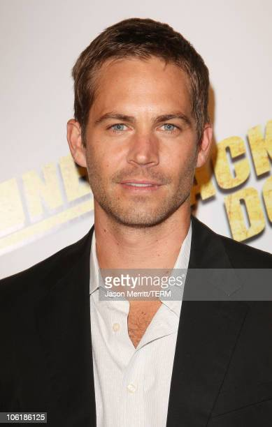 Paul Walker arrives at the premiere of Summit Entertainment's 'Never Back Down' at the Cinerama Dome on March 4 2008 in Hollywood California