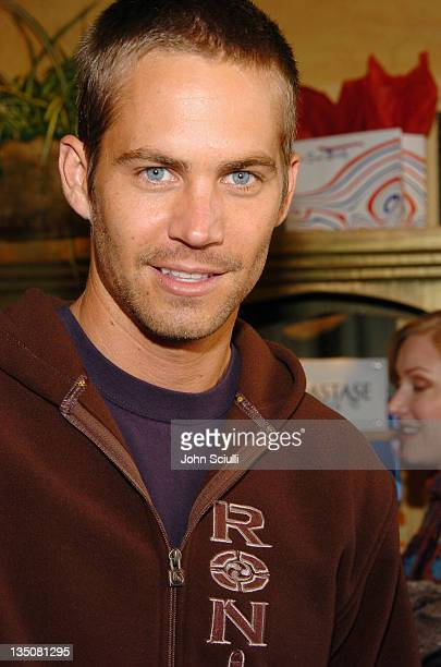 Paul Walker at Fred Segal during 2005 Park City Fred Segal Boutique at Village at the Lift at Village at the Lift in Park City Utah United States