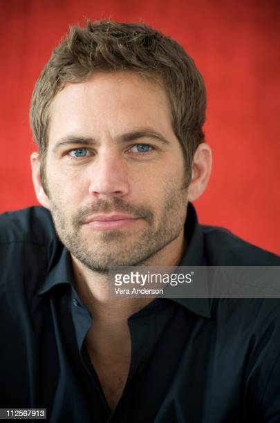Paul Walker at the Fast Furious press conference at the Arclight Theater on March 13 2009 in Hollywood California