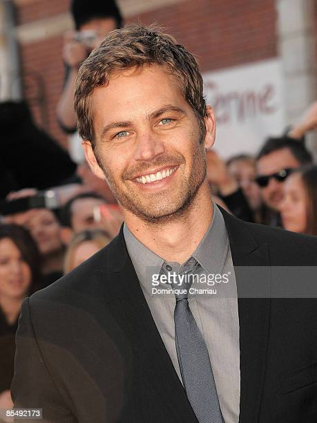 Paul Walker attends 'Fast Furious 4' Photocall on March 18 2009 at Lomme Kinepolis in Paris France
