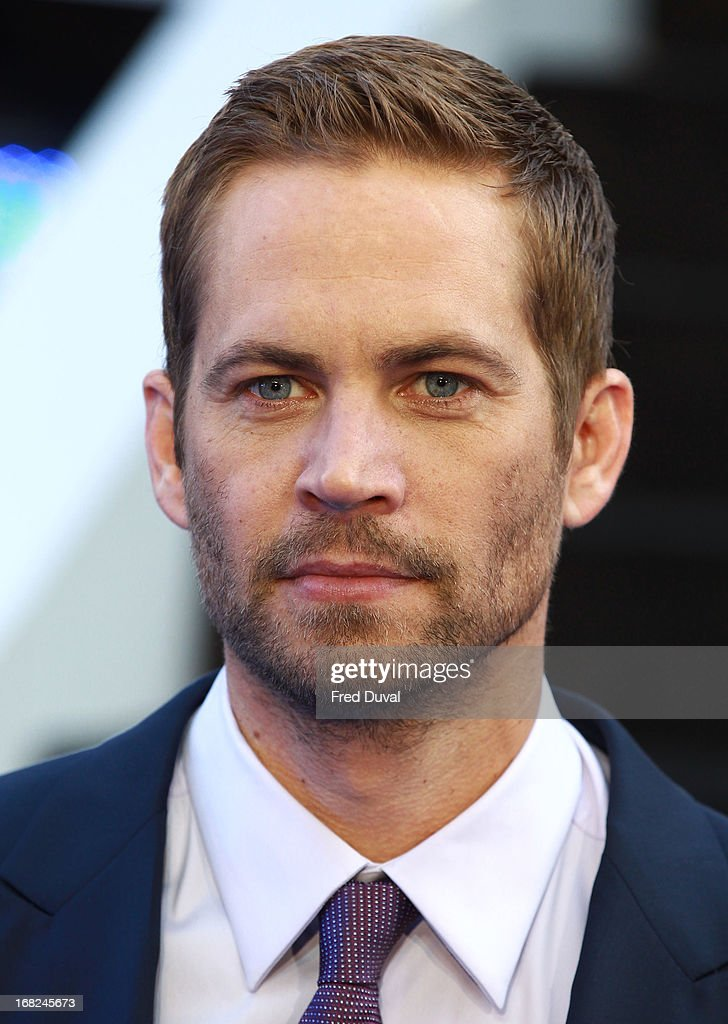 Paul Walker attends The UK Film Premiere of The Fast And The Furious 6 at The Empire Cinema on May 7, 2013 in London, England.