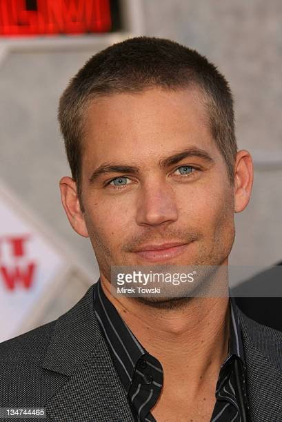 Paul Walker during 'Eight Below' movie premiere at 'El Capitan' Theater in Hollywood California United States