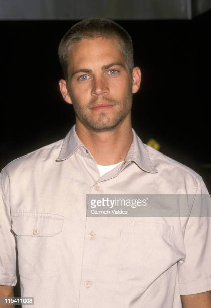 Paul Walker during 'Joy Ride' New York City Premiere at Clearview Chelsea West Theater in New York City New York United States