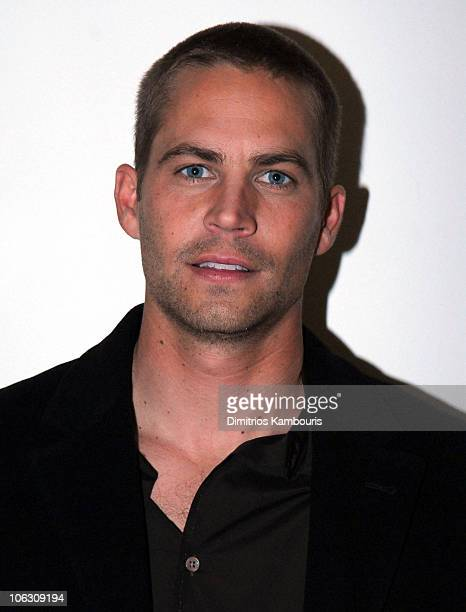Paul Walker during Paul Walker Visits Fuse's Daily Download February 16 2006 at Fuse Studios in New York City New York United States