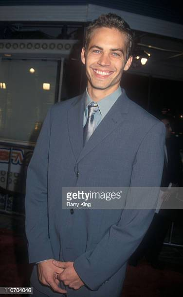 Paul Walker during 'Skulls' Los Angeles Premiere at Mann's Village Theater in Westwood California United States
