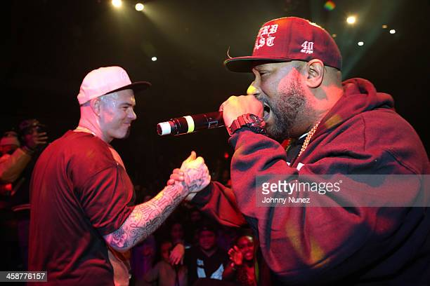 Paul Wall and Bun B perform at Music Hall of Williamsburg on December 11 2013 in New York City