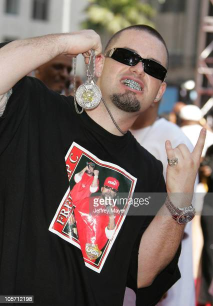 Paul Wall during 2005 BET Awards Arrivals at Kodak Theatre in Hollywood California United States