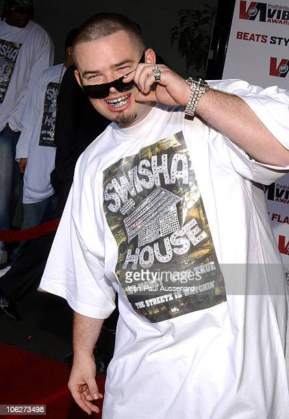 Paul Wall during 2005 Vibe Awards Arrivals at Sony Studios in Culver City California United States