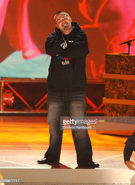 Paul Wall during Apple Bottoms during BET's Rip the Runway 2007 Show at Hammerstein Ballroom in New York City New York United States