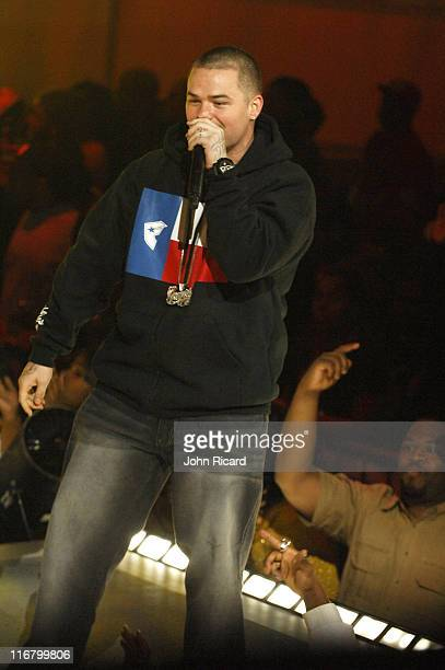 Paul Wall during BET's Rip the Runway 2007 Show at Hammerstein Ballroom in New York City New York United States