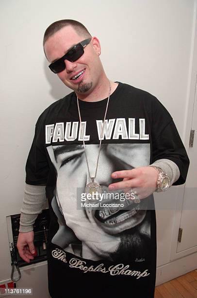 Paul Wall during New Year's 2006 in New York City MTV New Year's Bash at MTV Studios in New York City New York United States