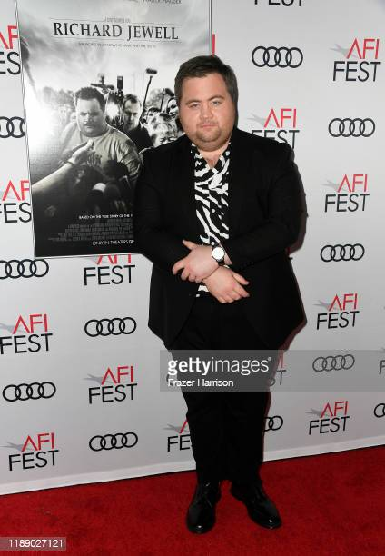Paul Walter Hauser attends the Richard Jewell premiere during AFI FEST 2019 Presented By Audi at TCL Chinese Theatre on November 20 2019 in Hollywood...