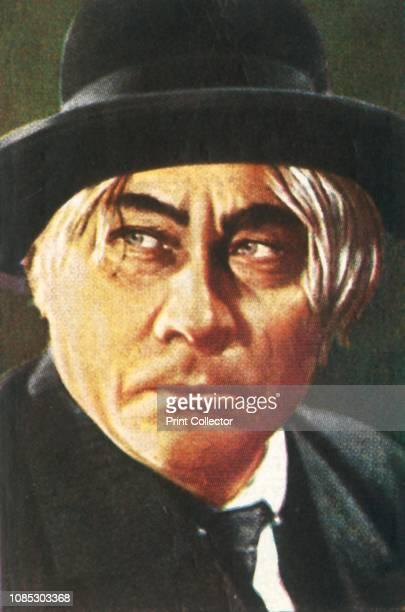 Paul Wegener in The Strange Case of Captain Ramper circa 1928 Portrait of German actor writer and film director Paul Wegener as Kapitän Ramper in a...