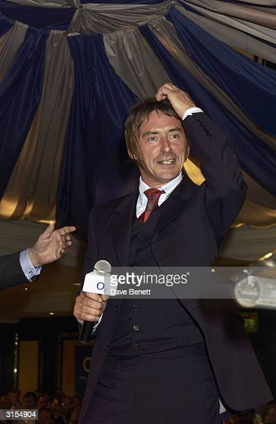 Paul Weller attends the 2003 Music Therapy Silver Cleft Awards at The Intercontinental Hotel on June 27 2003 in London