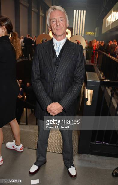 Paul Weller attends the GQ Men of the Year Awards 2018 in association with HUGO BOSS at Tate Modern on September 5 2018 in London England