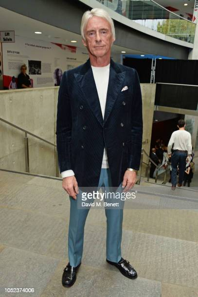Paul Weller attends the Q Awards 2018 at The Roundhouse on October 17, 2018 in London, England.