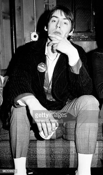 Paul Weller from The Jam posed in New York in 1979