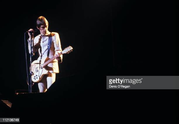 Paul Weller of The Jam in concert 1978
