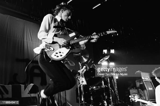 Paul Weller of The Jam on stage in New York, United States, March 1978.