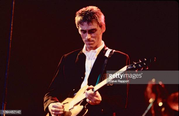 Paul Weller of The Style Council at Wembley Arena 12/7/85
