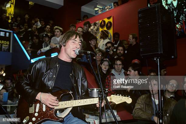 Paul Weller performing at Tower Records on Broadway and 4th Street in New York City on November 25 1992