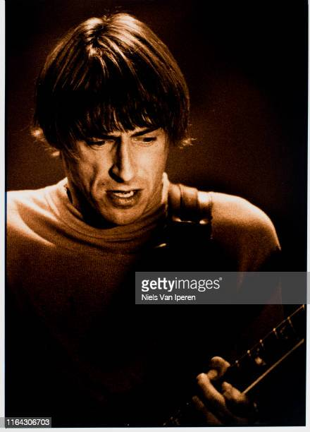 Paul Weller, performing on stage, Torhout Festival, Torhout, Belgium, 7th April 1997.
