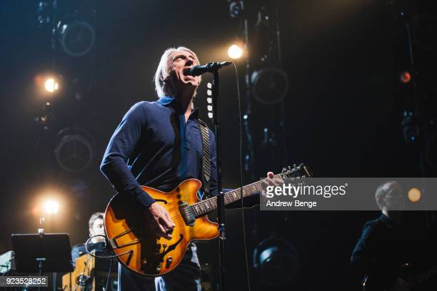 Paul Weller performs at First Direct Arena Leeds on February 23, 2018 in Leeds, England.