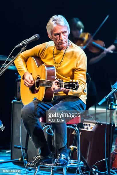 Paul Weller performs at The Royal Festival Hall on October 11 2018 in London England