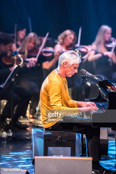Paul Weller performs at The Royal Festival Hall on October 11, 2018 in London, England.