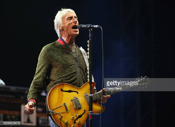 Paul Weller performs at Victorious Festival on Southsea Seafront on August 25, 2018 in Portsmouth, England.