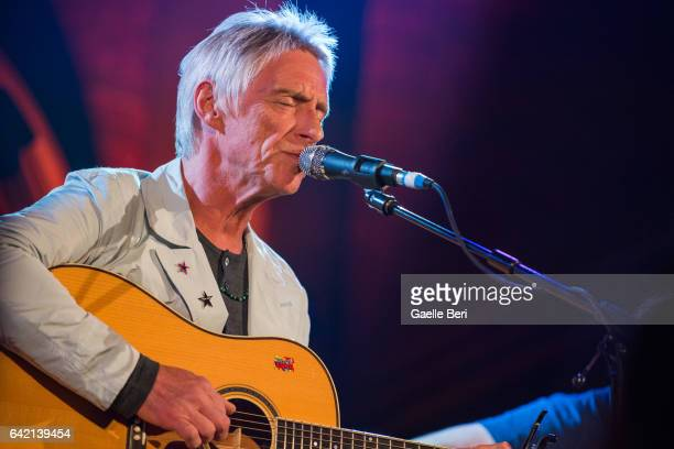 Paul Weller performs for War Child Brits Week 2017 at the Union Chapel on February 16 2017 in London England