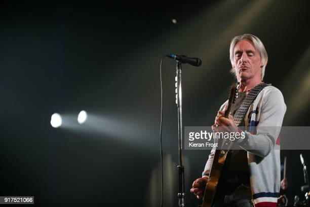 Paul Weller performs live at the Olympia Theatre on February 12, 2018 in Dublin, Ireland.