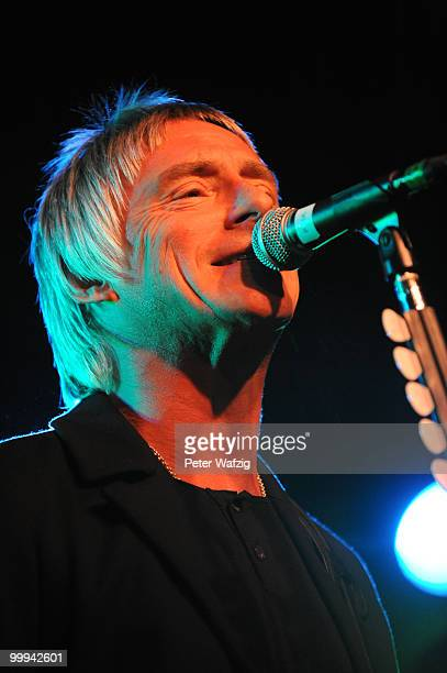 Paul Weller performs on stage at the Live Music Hall on May 18 2010 in Cologne Germany
