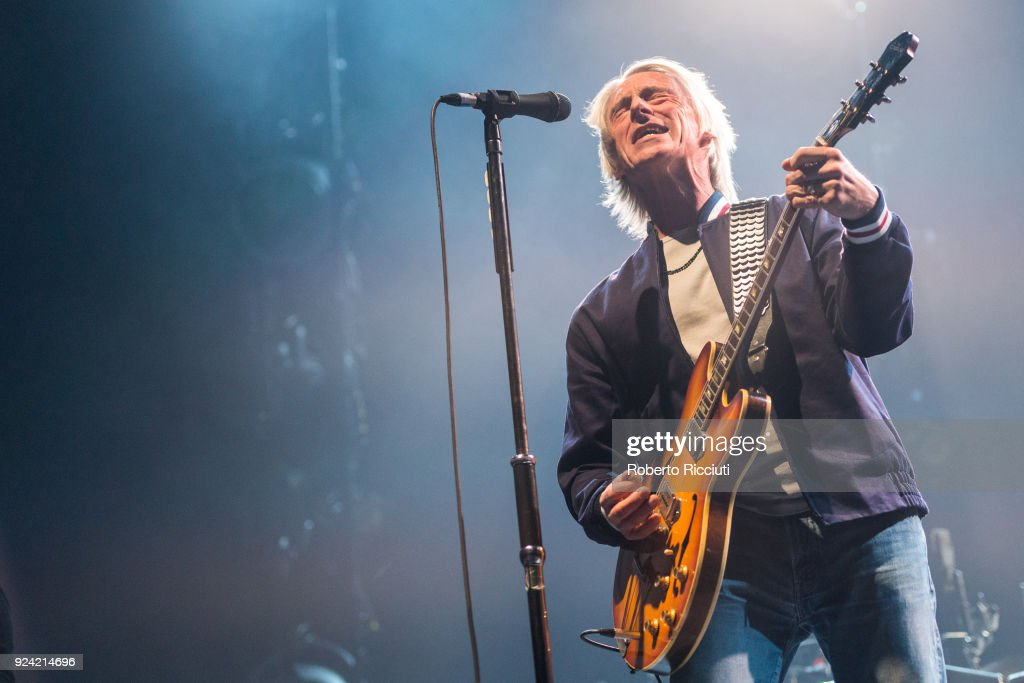 Paul Weller performs in Glasgow