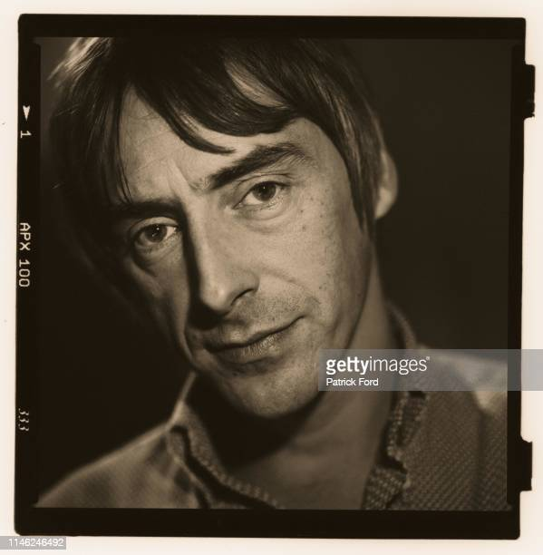 Paul Weller, portrait, VH1, Camden, London, 1998.