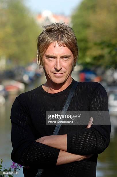 Paul Weller poses for a portrait at Studio 150 on September 18 2003 in Amsterdam Netherlands
