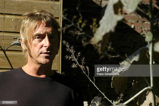 Paul Weller poses on September 18th 2003 in Amsterdam Netherlands