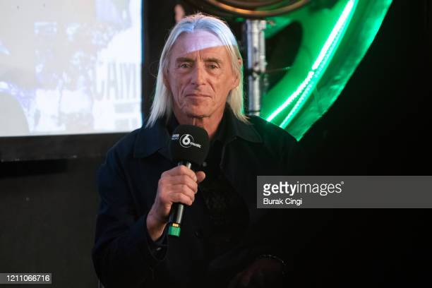 Paul Weller speaks on day 2 of BBC Radio 6 Music Festival on March 07, 2020 in London, England.