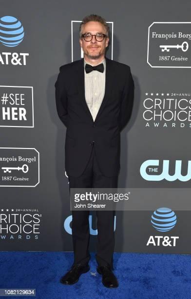 Paul Wernick attends the 24th Annual Critics' Choice Awards at Barker Hangar on January 13 2019 in Santa Monica California