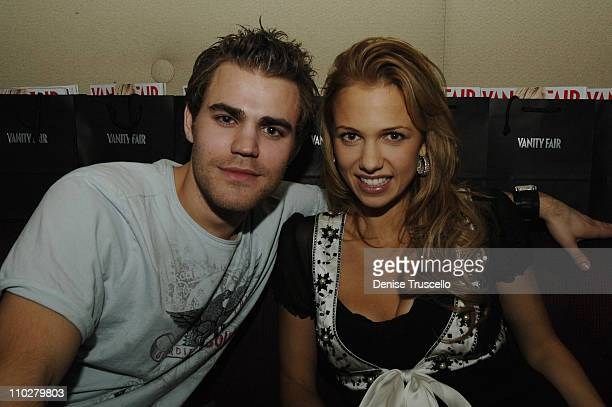 Paul Wesley and Marnette Patterson during Standing Still Release Party Hosted by Grey Goose Vodka Vanity Fair and Insomnia Entertainment at Jet...