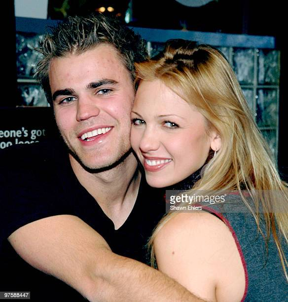 Paul Wesley and Marnette Patterson