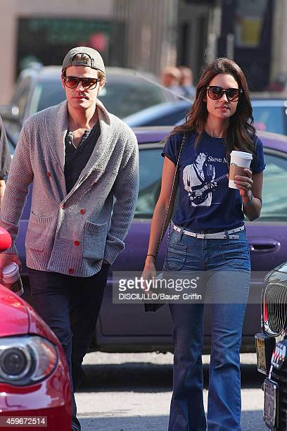 Paul Wesley and wife Torrey DeVitto are seen on June 01 2012 in New York City