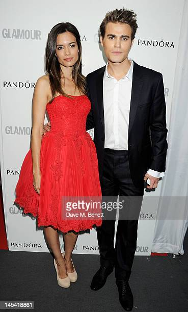 Paul Wesley arrives at the Glamour Women of the Year Awards in association with Pandora at Berkeley Square Gardens on May 29 2012 in London England