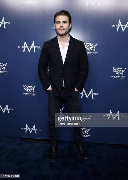 Paul Wesley attends 2017 Humane Society of The United States to the Rescue New York Gala at Cipriani 42nd Street on November 10 2017 in New York City