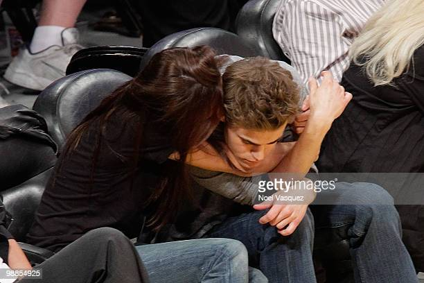 Paul Wesley attends a game between the Utah Jazz and the Los Angeles Lakers at Staples Center on May 4 2010 in Los Angeles California