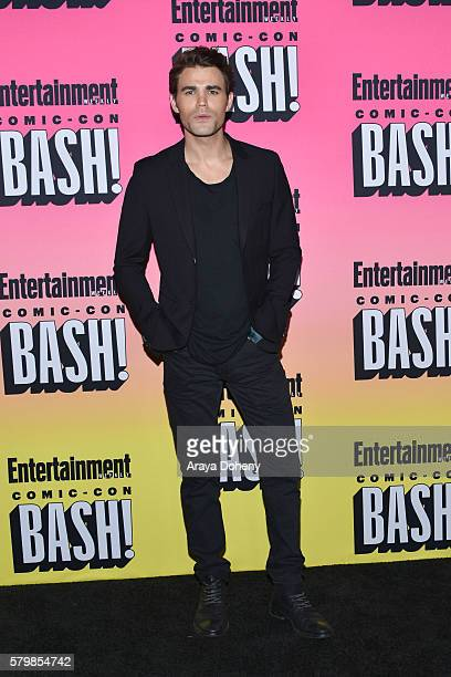 Paul Wesley attends Entertainment Weekly's ComicCon Bash held at Float at Hard Rock Hotel San Diego on July 23 2016 in San Diego California
